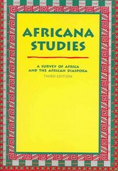 Africana Studies 3rd Edition 9780890894859 089089485X