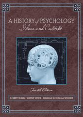 A History of Psychology 4th edition 9780205512133 0205512135