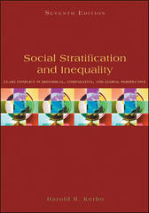 Social Stratification and Inequality 7th Edition 9780073380070 0073380075