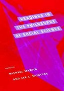 Readings in the Philosophy of Social Science 0 9780262631518 0262631512