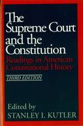 The Supreme Court and The Constitution 3rd Edition 9780393954371 0393954374