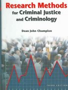 Research Methods for Criminal Justice and Criminology 3rd edition 9780131189287 013118928X