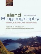 Island Biogeography 2nd edition 9780198566120 0198566123