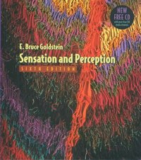 Sensation and Perception, Media Edition 6th Edition 9780534639914 0534639917