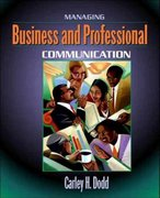 Managing Business and Professional Communication 1st edition 9780205335268 0205335268