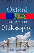 The Oxford Dictionary of Philosophy 2nd edition 9780198610137 0198610130