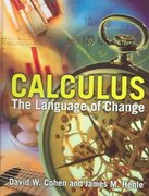Calculus: The Language Of Change 1st edition 9780763729479 0763729477