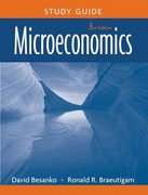 Microeconomics, Study Guide 3rd Edition 9780470233337 0470233338