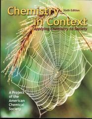 Chemistry in Context 6th edition 9780073048765 0073048763