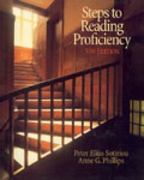 Steps to Reading Proficiency 5th edition 9780155062733 0155062735