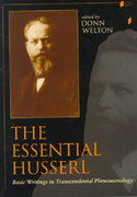The Essential Husserl 1st Edition 9780253212733 0253212731