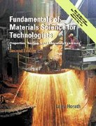 Fundamentals of Materials Science for Technologists 2nd Edition 9780130143877 0130143871