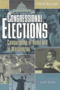 Congressional Elections 4th edition 9781568028262 1568028261