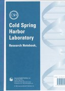 Cold Spring Harbor Laboratory Research Notebook 0 9780763701659 0763701653