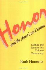 Honor and the American Dream 1st Edition 9780813509914 0813509912