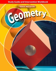 Geometry, Study Guide and Intervention Workbook 1st edition 9780078773440 007877344X