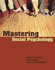 Mastering Social Psychology 1st edition 9780205495894 0205495893
