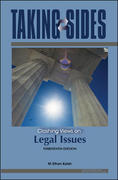 Taking Sides: Clashing Views on Legal Issues 13th edition 9780073515090 0073515094