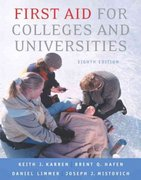 First Aid for Colleges and Universities 8th edition 9780805328486 0805328483