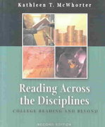 Reading Across the Disciplines 2nd Edition 9780321142481 0321142489