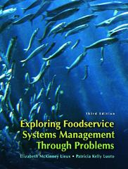 Exploring Food Service Systems Management Through Problems 3rd edition 9780132325424 013232542X