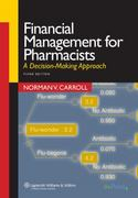 Financial Management for Pharmacists 3rd edition 9780781762397 0781762391