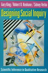 Designing Social Inquiry 1st Edition 9780691034713 0691034710