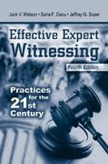 Effective Expert Witnessing, Fourth Edition 4th edition 9780849313011 0849313015