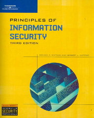 Principles of Information Security 3rd edition 9781423901778 1423901770