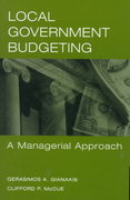 Local Government Budgeting 1st Edition 9780275952723 027595272X
