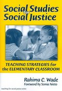 Social Studies for Social Justice 1st Edition 9780807747629 0807747629