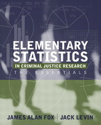 Elementary Statistics in Criminal Justice Research 0 9780205420537 0205420532
