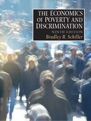 The Economics of Poverty and Discrimination 9th edition 9780130385680 0130385689