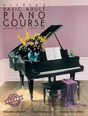 Alfred's Basic Adult Piano Course Lesson Book, Bk 1 1st Edition 9780882846163 0882846167