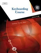 Keyboarding Course, Lessons 1-25 (with Keyboarding Pro 5, Version 1.2 CD-ROM) 17th edition 9780538730358 0538730358