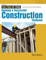 Running a Successful Construction Company 0 9781561585304 1561585300