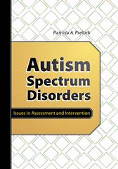 Autism Spectrum Disorders 1st Edition 9781416401292 1416401296