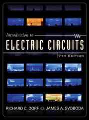 Introduction to Electric Circuits 7th edition 9780471730422 0471730424