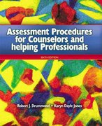 Assessment Procedures for Counselors and Helping Professionals 6th edition 9780131707849 0131707841