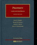 Property Cases and Materials 9th Edition 9781599412528 1599412527