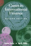 Cases in International Finance 2nd edition 9780201513073 0201513072