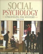 Social Psychology 3rd Edition 9780205420483 0205420486