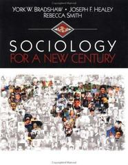 Sociology for a New Century 1st edition 9780803990821 0803990820