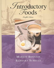 Introductory Foods 12th Edition 9780131100015 0131100017