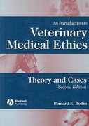 An Introduction to Veterinary Medical Ethics 2nd edition 9780813803999 0813803993