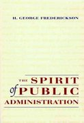 The Spirit of Public Administration 1st edition 9780787902957 0787902950
