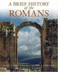 A Brief History of the Romans 1st Edition 9780195187151 0195187156
