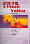 Special Tests for Orthopedic Examination 3rd Edition 9781556427411 1556427417