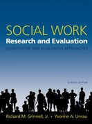 Social Work Research and Evaluation 7th edition 9780195179491 0195179498