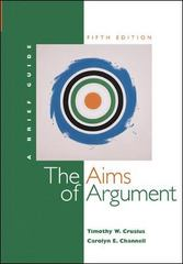 The Aims of Argument 5th edition 9780072961300 0072961309